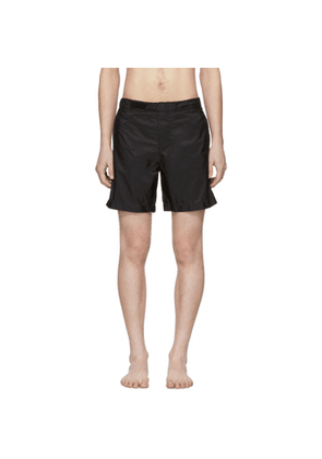 Prada Black Nylon Swim Shorts