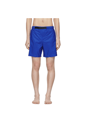 Prada Blue Nylon Swim Shorts