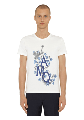 Printed Japanese Cotton Jersey T-shirt