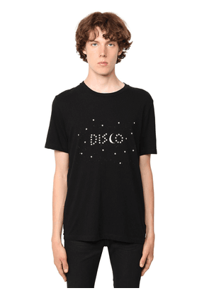 Disco Print Cotton Jersey T-shirt