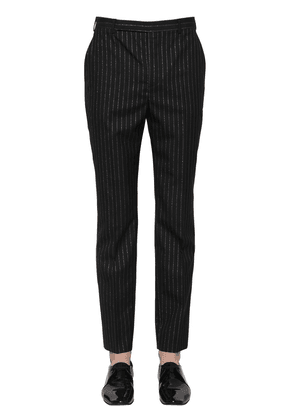 19.5cm Straight Wool Blend Pants