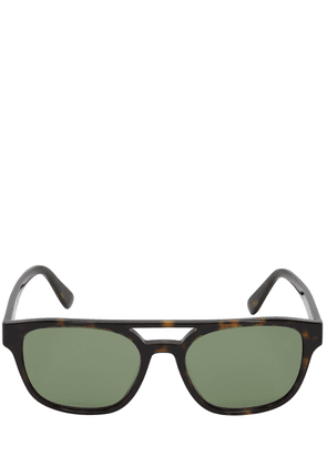 Tortoise Slim Acetate Sunglasses