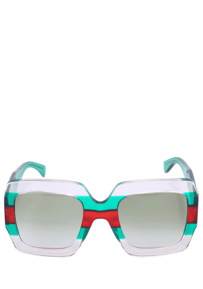 Pop Web Square Acetate Sunglasses