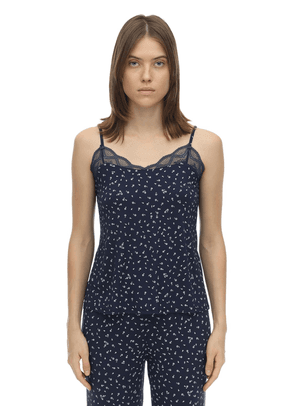 Bloom Printed Jersey Camisole Top