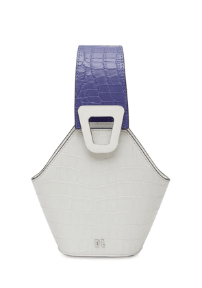 Xs Johnny Croc Embossed Leather Bag