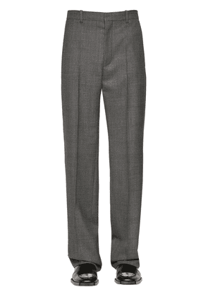 Prince Of Wales Wool Trousers