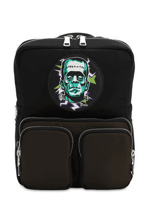 Frankenstein Print Soft Nylon Backpack