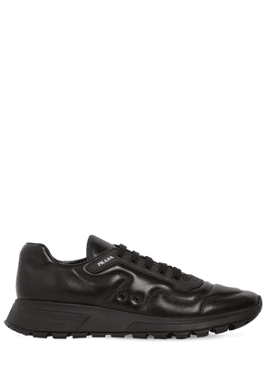 Prax 01 Nappa Running Leather Sneakers