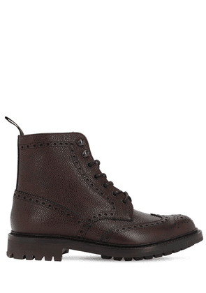Mcfarlane Leather Lace-up Boots