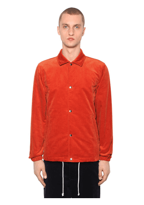 Cotton Corduroy Shirt Jacket