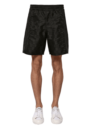 Logo Techno Jacquard Shorts
