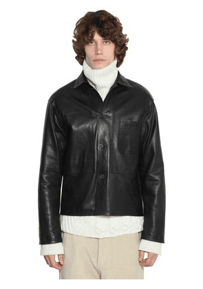 Unlined Leather Jacket