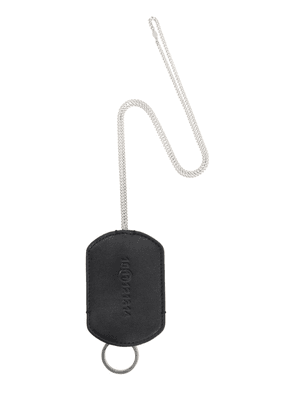 Leather Key Ring W/ Chain