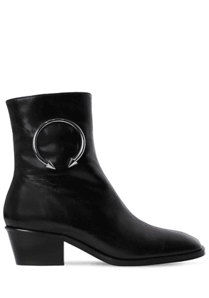 40mm Nizip Offroad Leather Ankle Boots