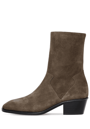 40mm Offroad Suede Ankle Boots