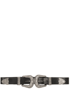 35mm Baby Bri Bri Leather Belt