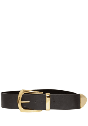65mm Jordana Leather Belt