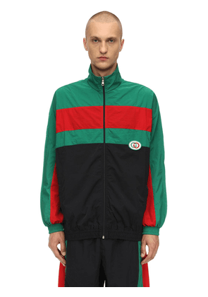 Waterproof Nylon Track Jacket