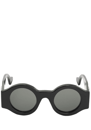 Interlocking Gg Round Acetate Sunglasses