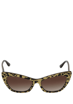 Animal Print Cat Eye Acetate Sunglasses