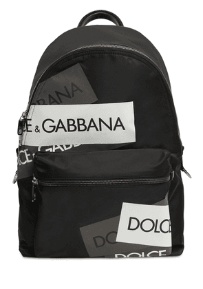 Logo Tech Canvas Backpack