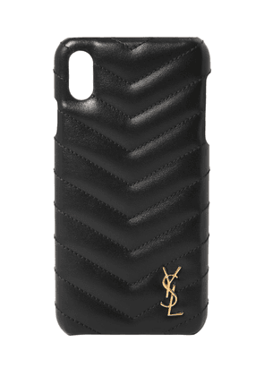 Quilted Leather Iphone X/xs Cover