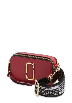 Snapshot Leather Shoulder Bag