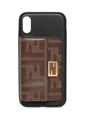 Leather I Phone X/xs Cover