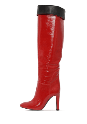 105mm Naplak Leather Boots