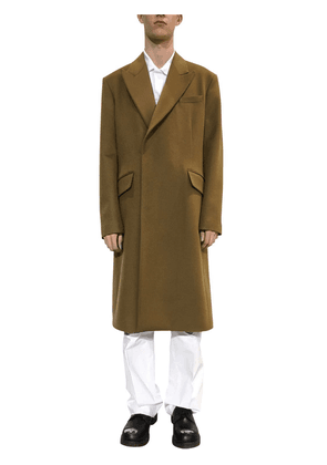 Virgin Wool & Cashmere Coat