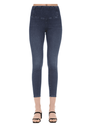 Coco Cotton Blend Denim Leggings