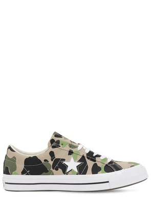One Star Archive Prints Remixed Sneakers