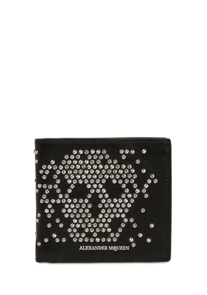 Studded Skull Classic Leather Wallet
