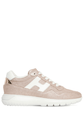 60mm I Cube Lamè Leather Sneakers