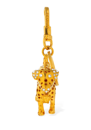 Audry Charm Key Holder W/ Crystals