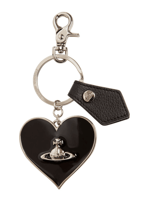 Mirror Heart Key Holder