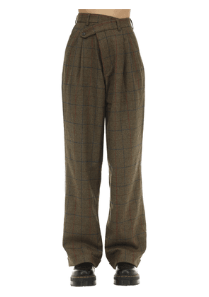 Crossover Lambswool Pants