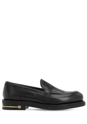 Teeth 3 Calfskin Leather Loafers