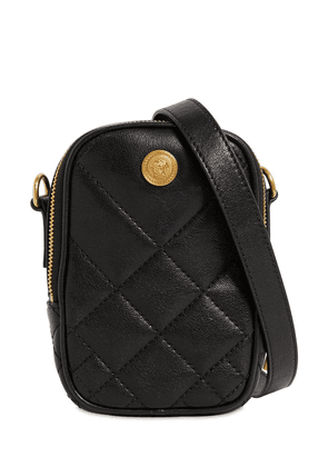 Mini Quilted Leather Crossbody Bag