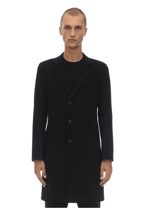 Single Breasted Virgin Wool Coat