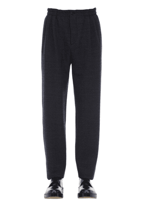 Virgin Wool Jogging Pants