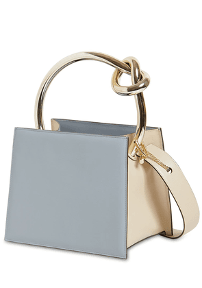 Anais Small Leather Top Handle Bag