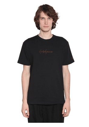 New Era Embroidered Cotton T-shirt