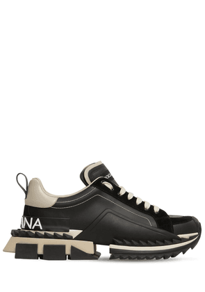 Super King Leather Sneakers