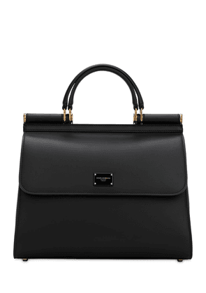 Sicily 58 Large Leather Top Handle Bag