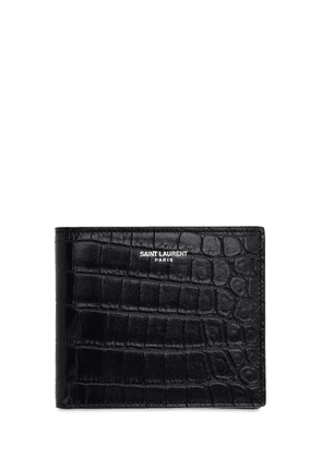 Eastwest Embossed Leather Wallet