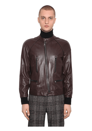 Plongé Leather Blouson Jacket