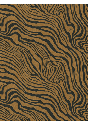Leather Effect Tiger Print Wallpaper