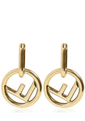 Small F Is Fendi Earrings
