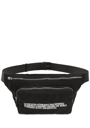 Embroidered Logo Belt Bag